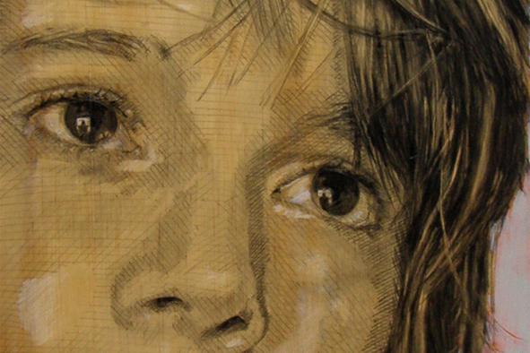 DANIEL (detail) by Judy Rogers